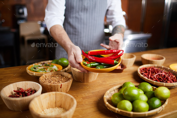 Hot and Spicy - Stock Photo - Images