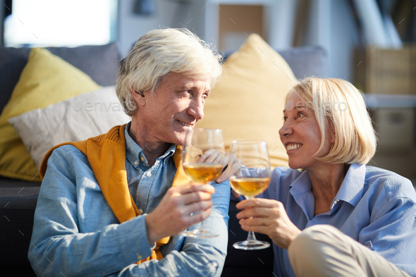 Mature Couple on Date - Stock Photo - Images