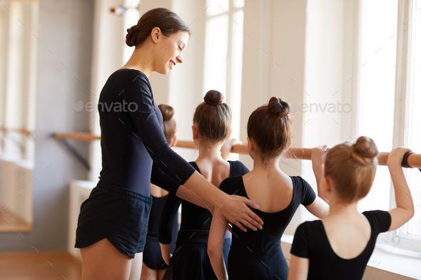 Little Ballet Dancers - Stock Photo - Images