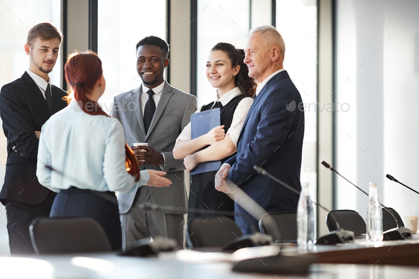 Group of Young Business People - Stock Photo - Images