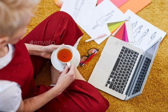 Tea break - Stock Photo - Images