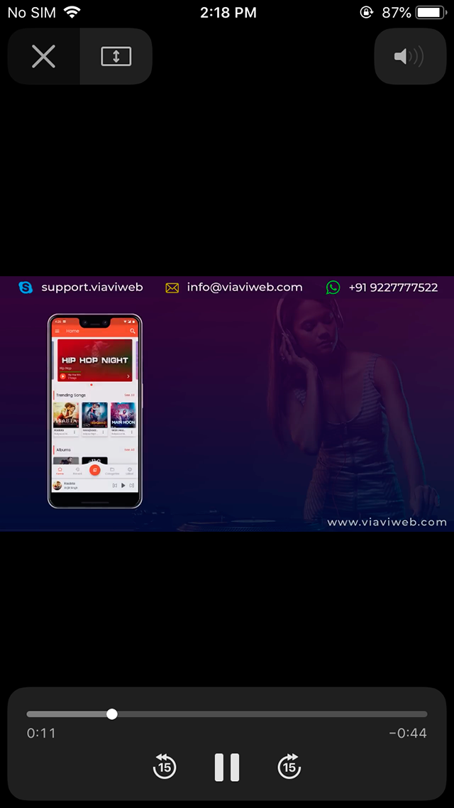 iOS Live TV ( TV Streaming, Movies, Web Series, TV Shows & Originals)