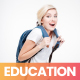Education Minimalistic Promo - VideoHive Item for Sale