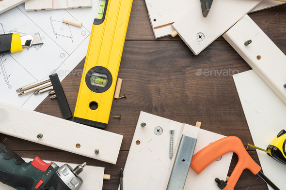 Furniture Assembly Process - Stock Photo - Images