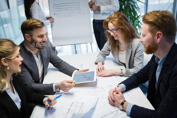 Business people conference in modern office - Stock Photo - Images