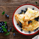 Sweet crepes filled with fresh blueberry - PhotoDune Item for Sale