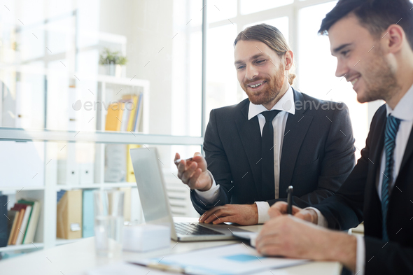 Presentation of new strategy - Stock Photo - Images