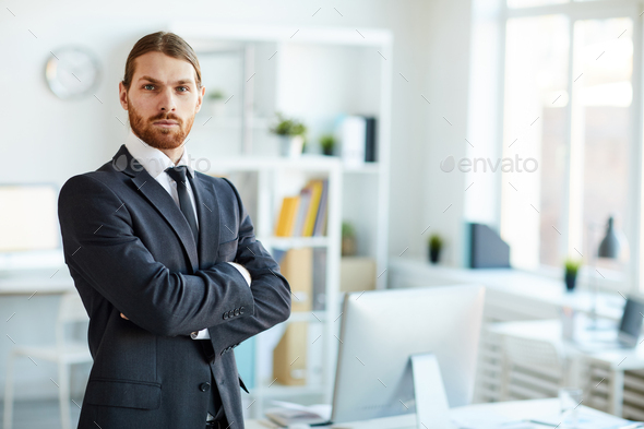 Elegant broker - Stock Photo - Images
