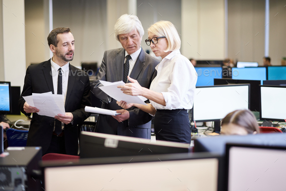 Group of Mature Business People - Stock Photo - Images