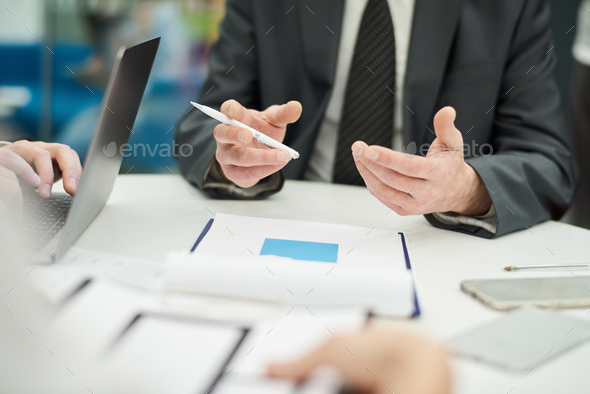 Meeting Table Background - Stock Photo - Images