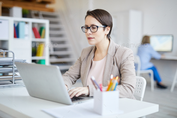 Contemporary Businesswoman - Stock Photo - Images
