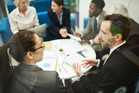 Important Business Meeting in Office - Stock Photo - Images