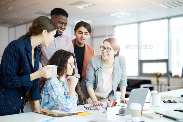 Contemporary Business Team - Stock Photo - Images