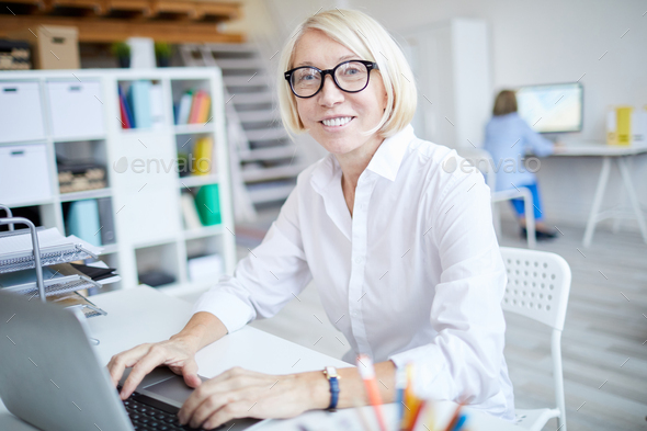 Successful Mature Woman - Stock Photo - Images