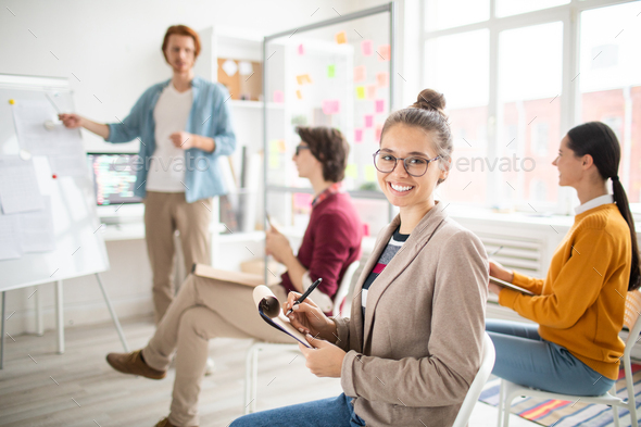 Pretty student - Stock Photo - Images