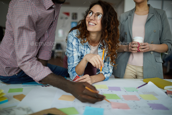 Business Team Planning Project - Stock Photo - Images