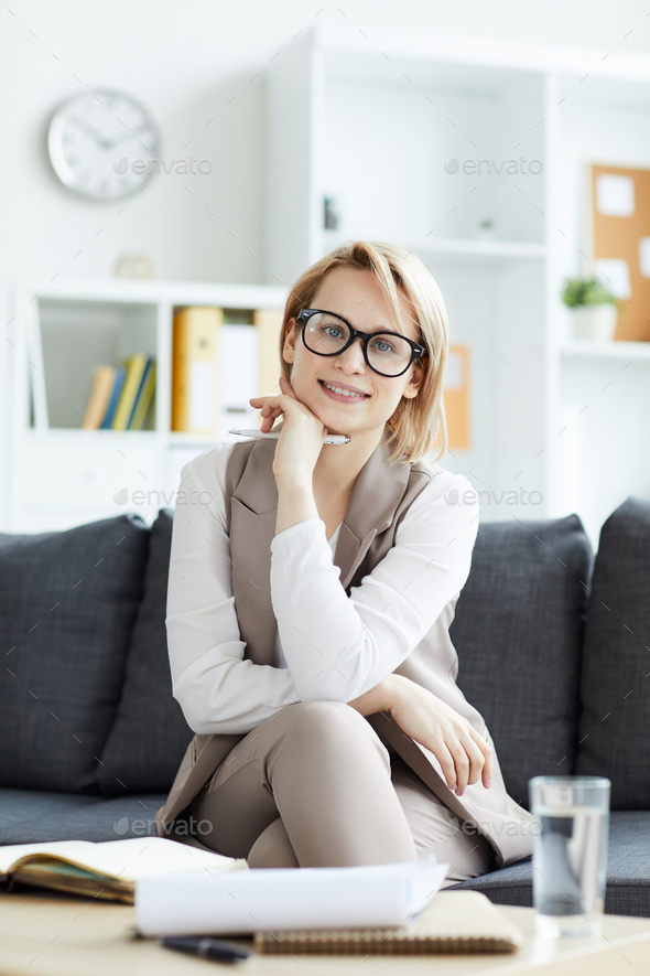 Counselor in office - Stock Photo - Images
