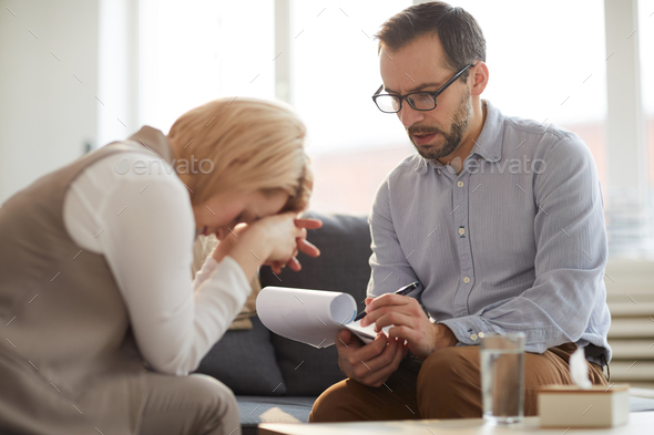 Self-employed counselor - Stock Photo - Images