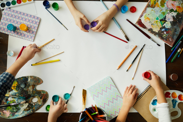 Creative Kids Background - Stock Photo - Images