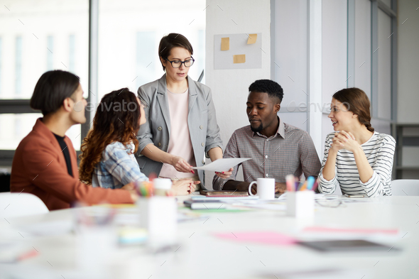 Multi-Ethnic Group of Businesspeople - Stock Photo - Images