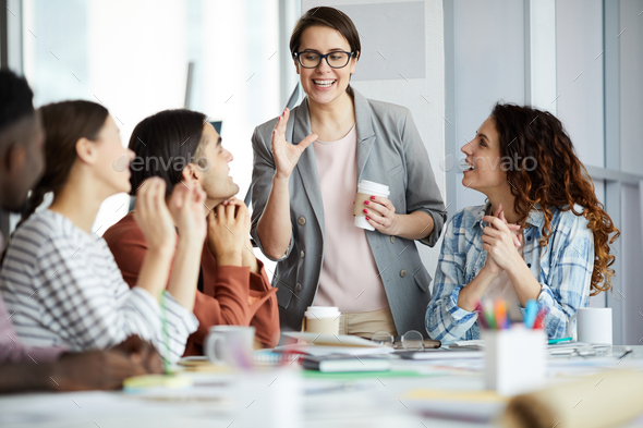 Modern Business Team - Stock Photo - Images