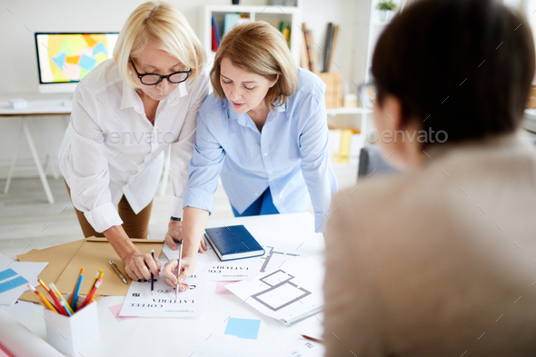 Female Designers Collaborating - Stock Photo - Images