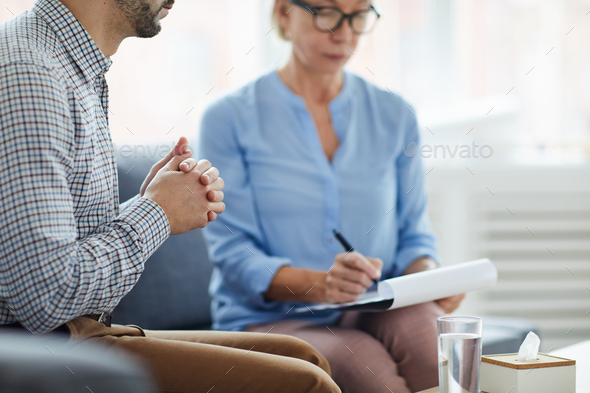 Meeting counselor - Stock Photo - Images