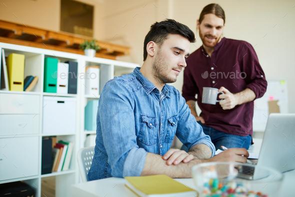 Creative businessmen - Stock Photo - Images