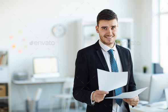 Successful banker - Stock Photo - Images