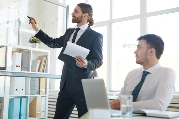 Analysts working - Stock Photo - Images
