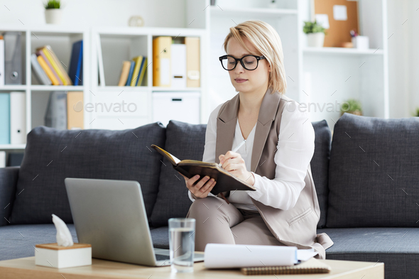 Planning work in office - Stock Photo - Images