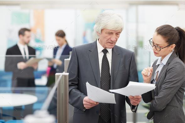 Senior Business Executive - Stock Photo - Images