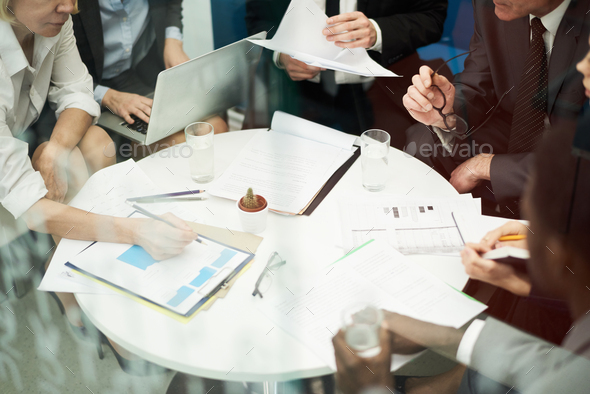Business Meeting Background - Stock Photo - Images