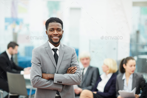Successful African Businessman - Stock Photo - Images