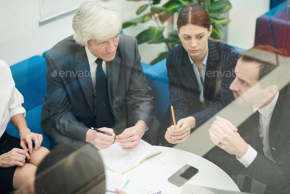 Business Team in Meeting - Stock Photo - Images