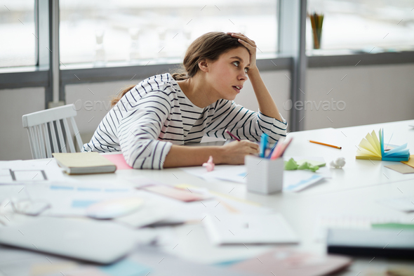 Student Doing Homework - Stock Photo - Images