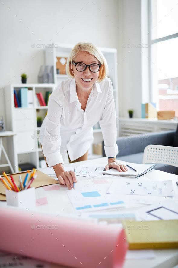 Mature Designer - Stock Photo - Images