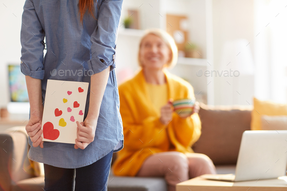 Mothers Day Surprise - Stock Photo - Images