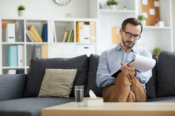After consultation - Stock Photo - Images