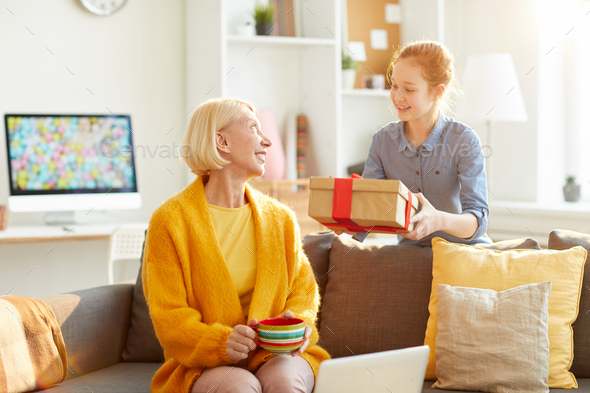 Present for Mothers Day - Stock Photo - Images