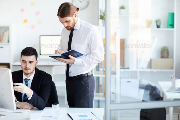 Teamwork in office - Stock Photo - Images