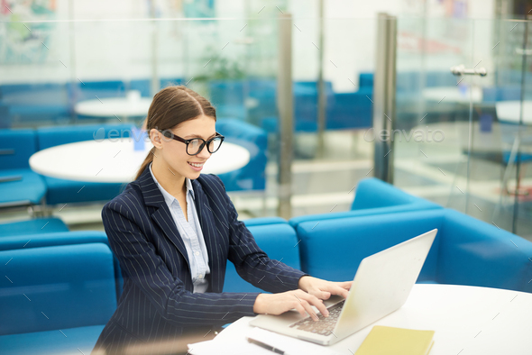 Young Business Intern - Stock Photo - Images