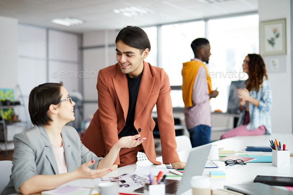 Multi-Ethnic Group in Office - Stock Photo - Images