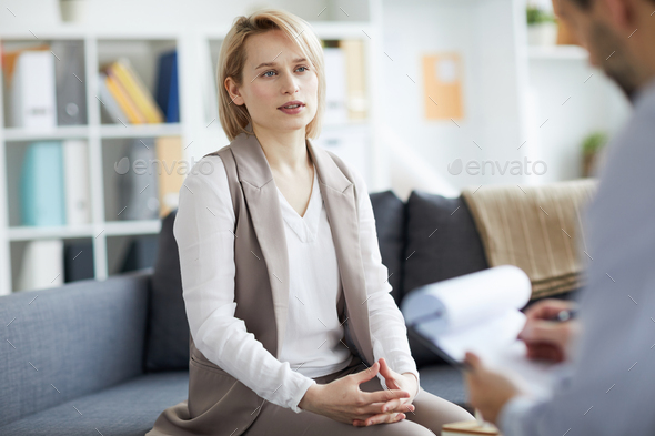 Talking about problems - Stock Photo - Images