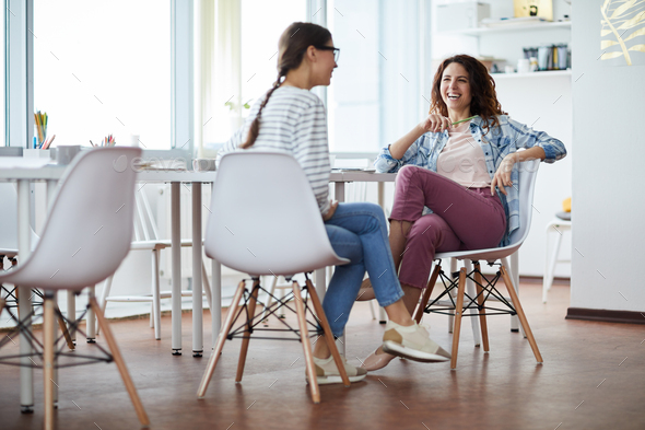 Contemporary Woman at Work - Stock Photo - Images