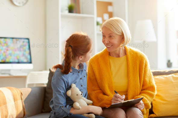 Smiling Psychologist - Stock Photo - Images