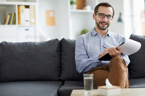 Confident counselor - Stock Photo - Images