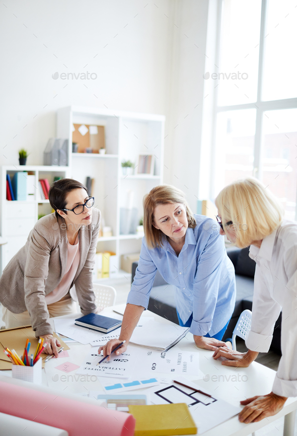Group of Designers Working - Stock Photo - Images