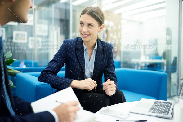 Young Female Entrepreneur - Stock Photo - Images