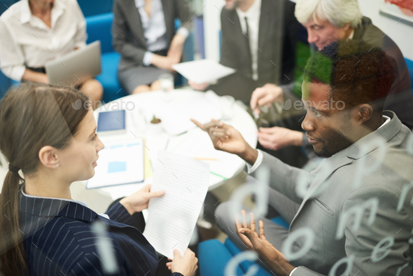 Multi-Ethnic People in Meeting - Stock Photo - Images